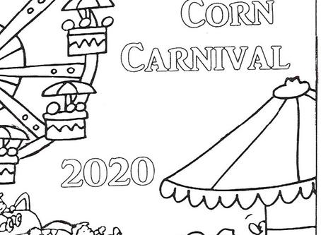 Corn Carnival Coloring Contest