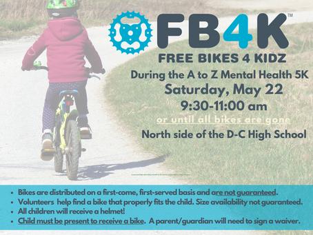 Free Bikez 4 Kidz 2021