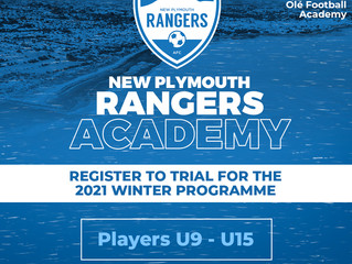 New Plymouth Rangers launch their new look academy