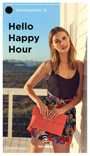 Dorothy Perkins Hello Happy Hour - Let's