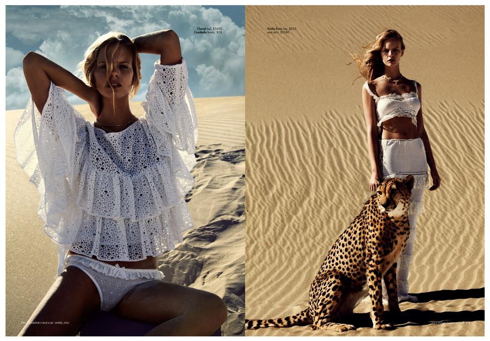Australian Harpers Bazaar Under African