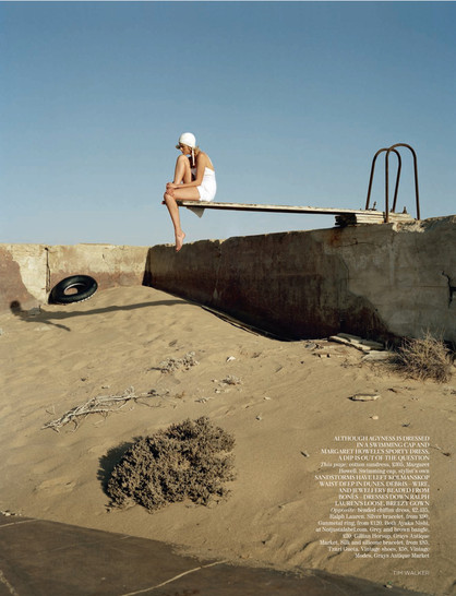 UK Vogue campaign. Produced in Namibia.