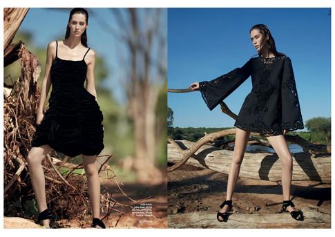 UK Harpers Bazaar Kenya production - Sum