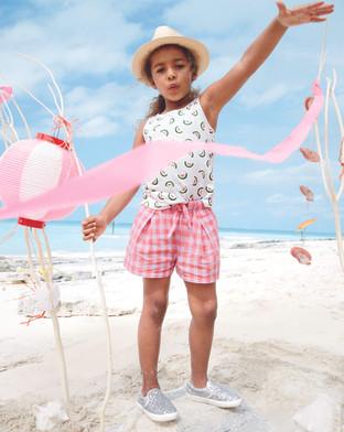 J Crew fashion production Cape Town pink