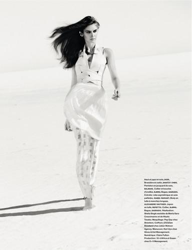 Numero Paris Magazine photoshoot. Photog