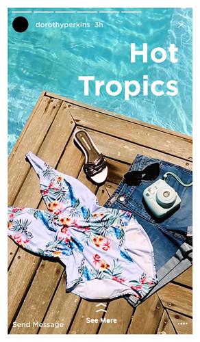 Dorothy Perkins Summer Hot Tropics - Let