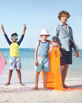 J Crew fashion production Cape Town beac