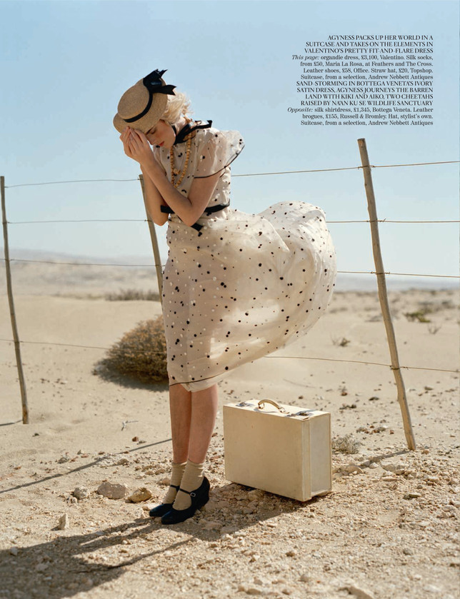 UK Vogue campaign. Produced in Namibia b