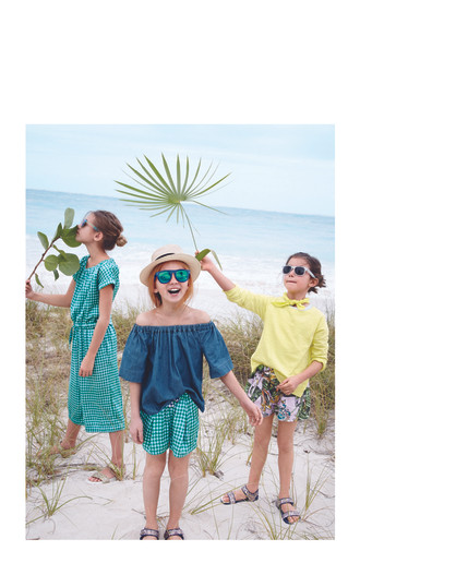 J Crew kids fashion production Cape Town
