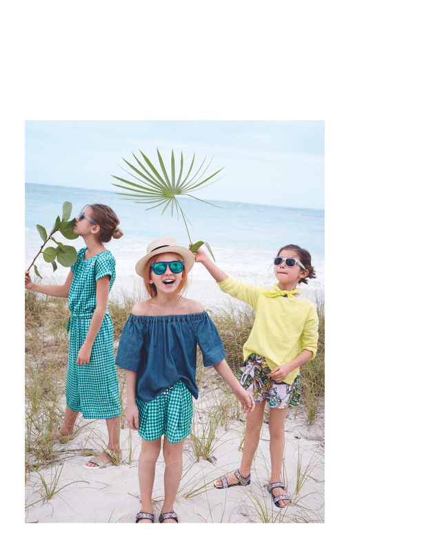 J Crew kids fashion production Cape Town