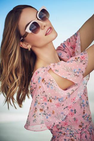 Dorothy Perkins Pink Dress Summer Campai