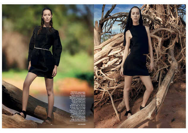 UK Harpers Bazaar Kenya production - Sum