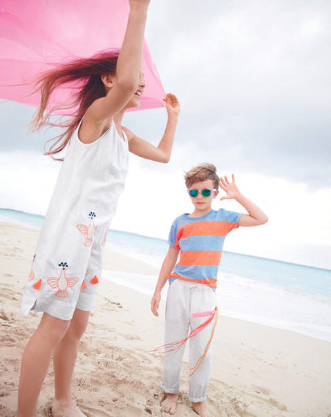 J Crew summer fashion production Cape To