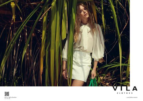 Villa Clothes ad campaign. Photographer