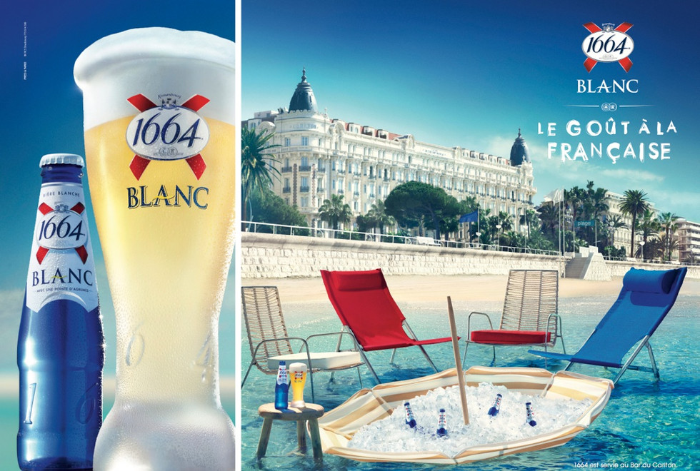 Kronenbourg 1664 Blanc. Photography Kevi