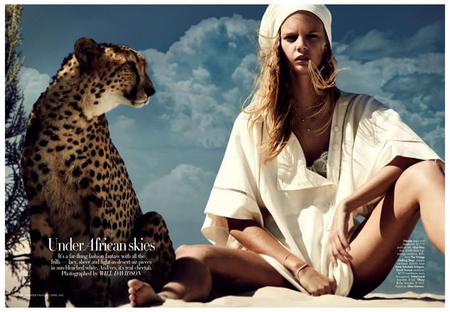 Australian Harpers Bazaar produced in Ca