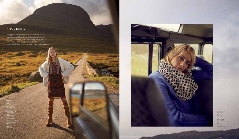 ANTHROPOLOGIE 2017 Catalogue production