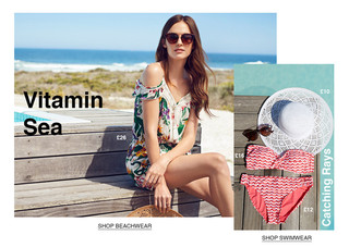Dorothy Perkins Let's Go Somewhere Campa