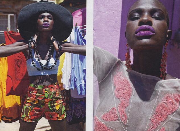 Daily Telegraph Magazine African photosh