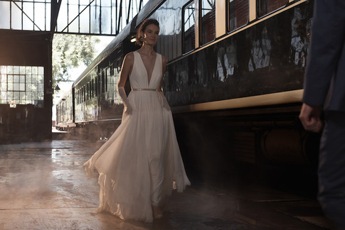 BHLDN_Photography_Production_Wedding_Dress_with_Belt_Johannesburg_Rovos_Rail_Train_Kent_&_Co_Productions_Photographer_Hans_Neumann