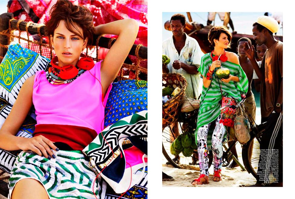 Marie Claire Australia. Fashion photogra