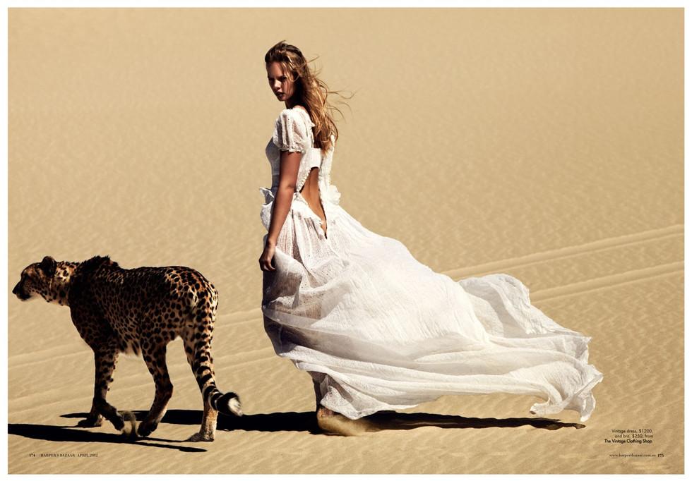 Australian Harpers Bazaar - Under Africa