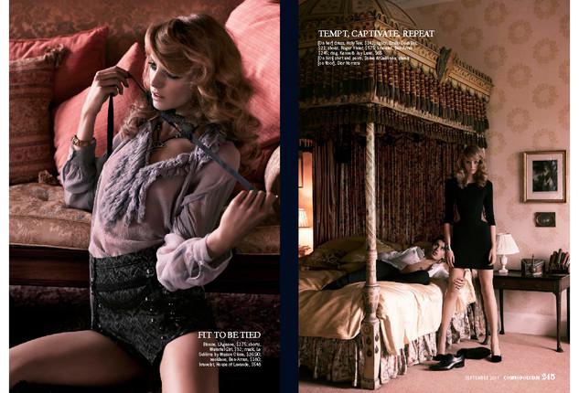 US Cosmopolitan campaign produced in Lon