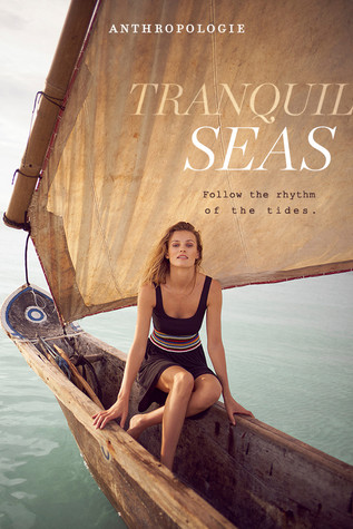 Anthropologie tranquil seas photoshoot p