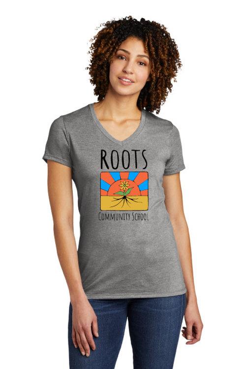 Roots Ladies V-Neck Tee