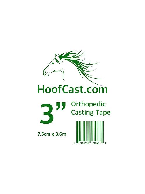 Hoofcast 3 Inch 7.5cm x 3.6m