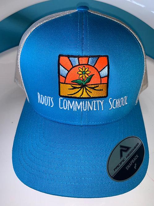 Roots Snapback Trucker Mesh Hat