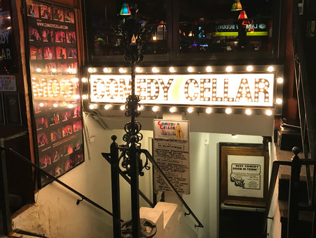 Get a good laugh at the Comedy Cellar