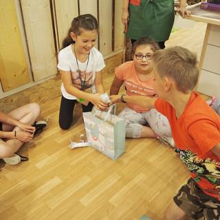 Kindergeburtstag Holz-Zirkus