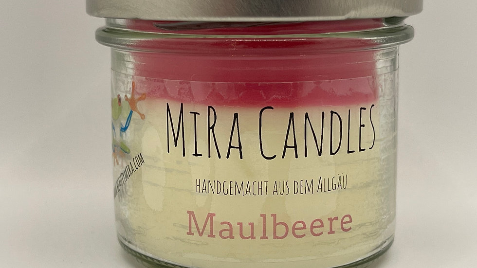 """MiRa Candles """"Maulbeere"""" 90g"""