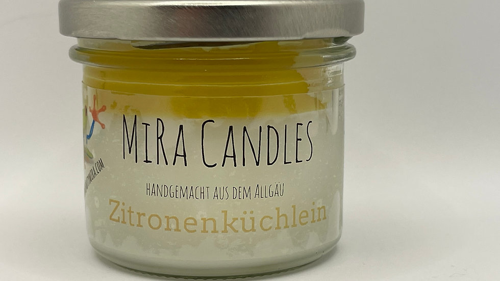 """MiRa Candles """"Zitronenküchlein"""" 90g"""