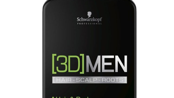 Schwarzkopf 3D Men Hair & Body Shampoo 250 ml
