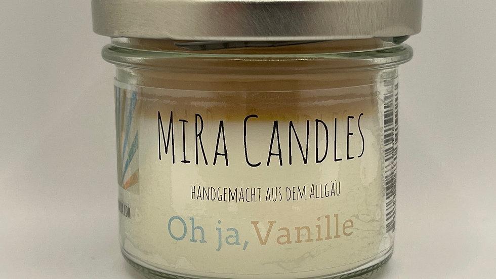 """MiRa Candles """"Oh ja, Vanille"""" 90g"""