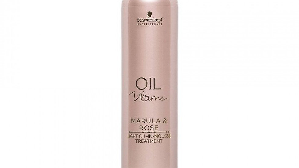 Schwarzkopf Professional Oil Ultime Marula & Rose Light Oil-In-Mousse Treatment