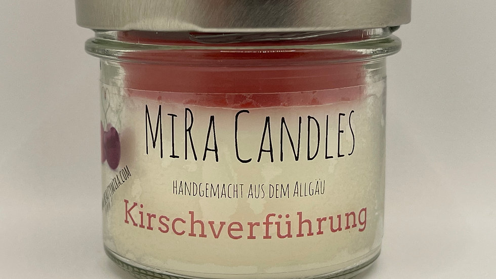 """MiRa Candles """"Kirschverführung"""" 90g"""