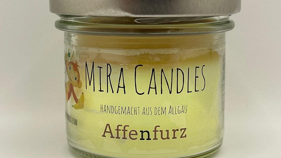 """MiRa Candles """"Affenfurz"""" 90g"""