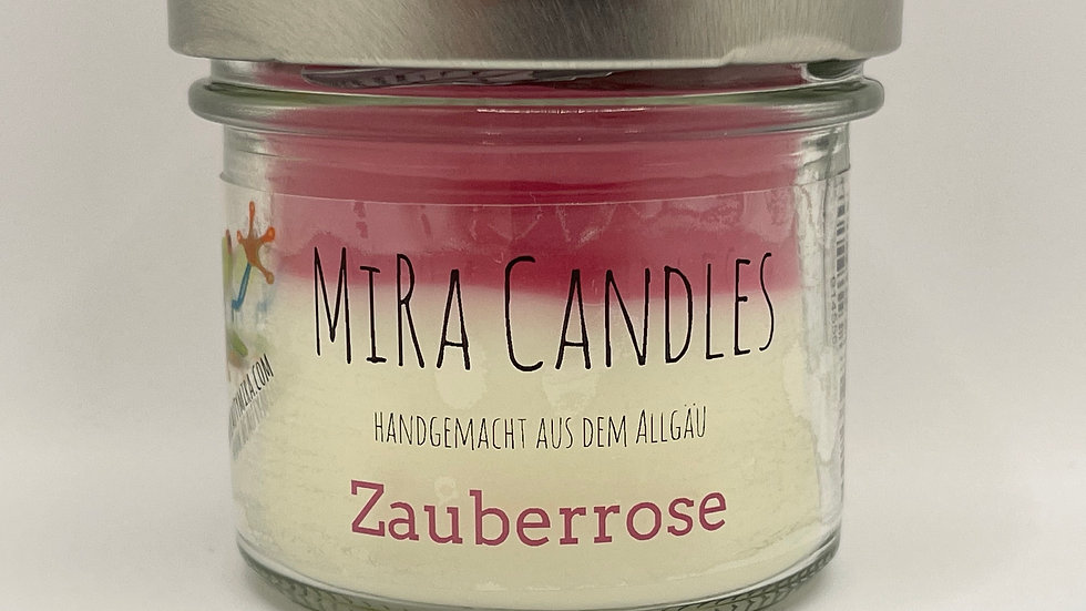 "MiRa Candles ""Zauberrose"" 90g"