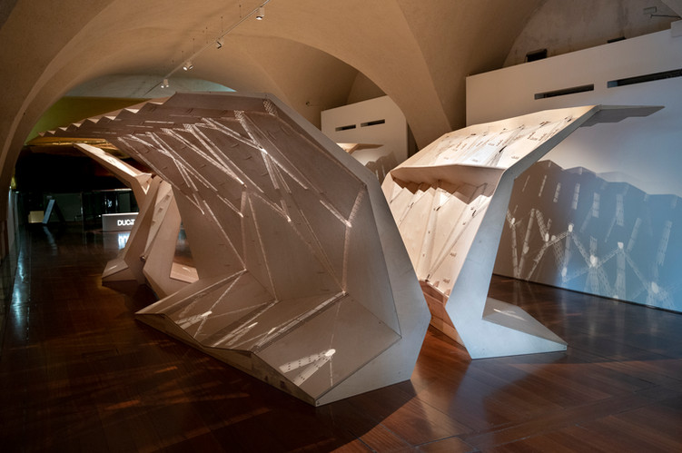 UnFolding Pavilion at London Design Biennale 2021
