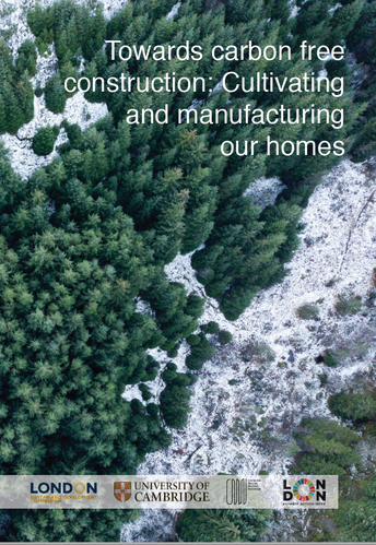 Towards carbon free construction: Cultivating and manufacturing our homes