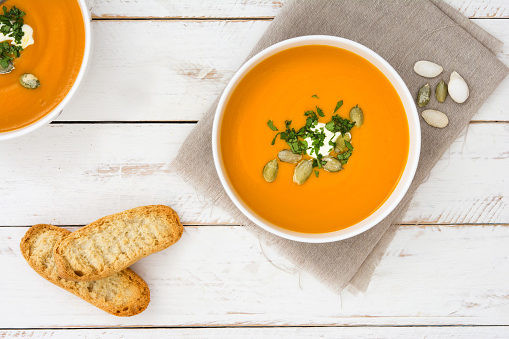 Butternut squash soup gut health