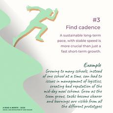 #3  Find cadence