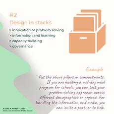 Design in stacks
