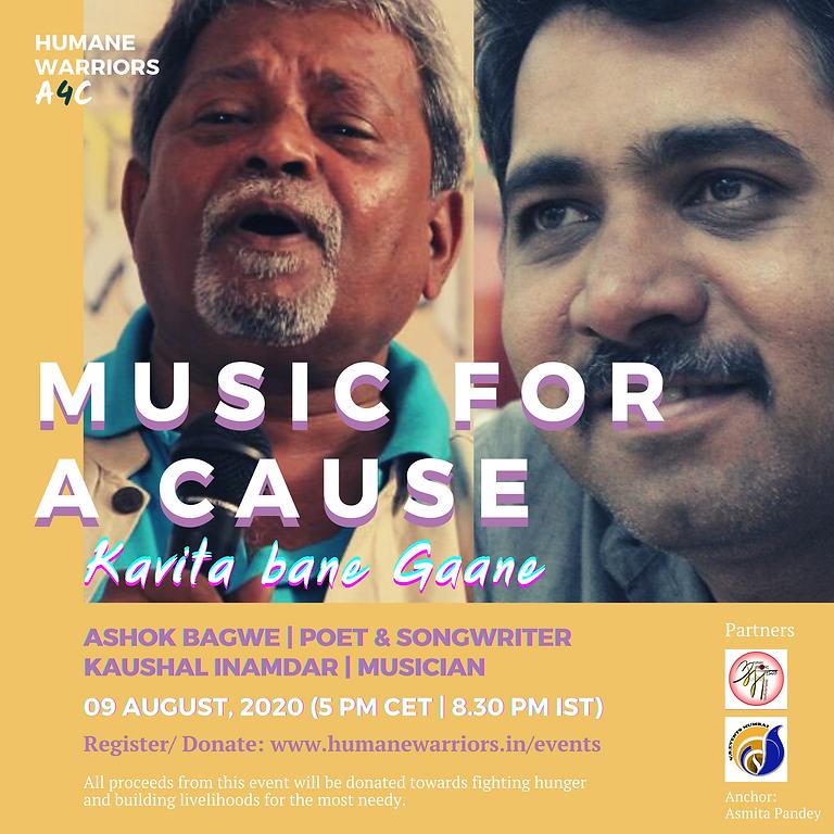 Raised 5000+INR!! Music for a Cause: Kavita bane Gaane