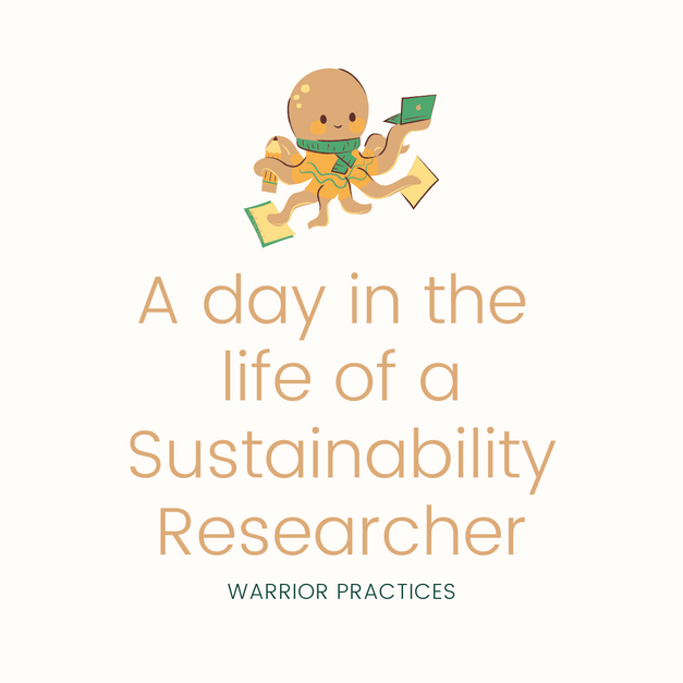 Life of sustainability researchers!