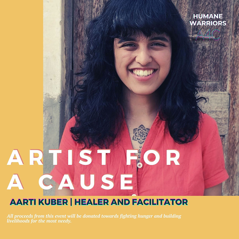 RAISED 7,000+ INR! Heal for a cause with Aarti