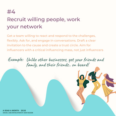#4  Recruit willing people